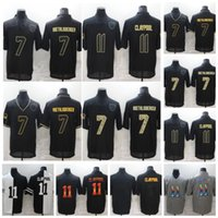 7 Ben Roethlisberger Jersey Football 2020 Salut au service Limited Plttsburgh Steeiers 11 Chase Claypool Noir Blanc