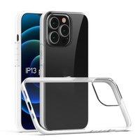 آيفون 12 برو ماكس الحالات سامسونج غالاكسي S21 بلس الترا A02 A32 ملاحظة 20 Huawei P40 2MM سميكة واضح TPU حالة الهاتف