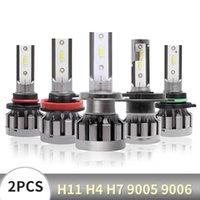Car Headlights Mini LED H1 H3 H4 H7 H11 9005 9006 1860 CSP Chip Bulb Canbus Headlight 72W 10000LM 6000K 9V Fog Lamp 16V Automotivo
