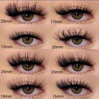 False Eyelashes Wholesale Real Mink Lashes 25mm 5D 30MM Fake 10 20 30 50 Pairs 3D 15MM Natural Lash Extension Supplies Makeup