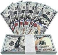 الدعامة المال الأموال وهمية الدولار الفواتير ورقة المطبوعة اليورو بيل حزب اللوازم ل رش بندقية بندقية الاطفال تعليم هالوين هدايا عيد الميلاد