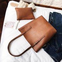 Shoulder Bags Casual Women Bag 2021 Soft PU Leather Ladies Big Totes Female Large Capacity Handbag Black Composite Shopping
