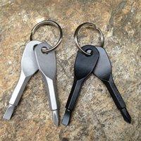 مفكات 2 قطعة / المجموعة مفكات المفاتيح المفاتيح الجيب البسيطة مفك مجموعة حلقة مع مخاطر فيليبس اليد الرئيسية المعلقات الحرة dhl {فئة}