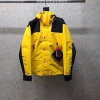 Cool Causal Donne da uomo Giacche con cappuccio Cappotti a vento a vento Spring Autunno Sport Sport Hip Hop Streetwear Outdoor Streetwear Fashion Outwear JK1990