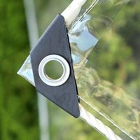 Тень водонепроницаемый PVC прозрачный брезент Poly Clear TARP крышка 0,35 мм тентовая антивозрастная изоляция мягкое стекло