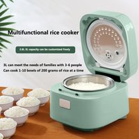 Rice Cooker Household Multi-Function Reservation 2.6L Stainless Steel Double-Liner Small Appliances For Cookers