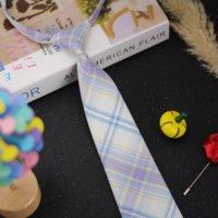 K3JI JK Femme Paies Japonais Japonais Col de Caoutchouc Cadre High School Uniforme Cravate de bande de caoutchouc paresseux