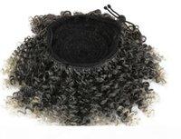 Мягко странные кудрявые серые волосы для волос для волос для чернокожих женщин соль и перца темно-серые женщины волос с зажимами 140G
