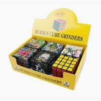 Rubik Küp Öğütücü 60mm Çapı 4 Katmanlı Kübik Tütün Kırıcı