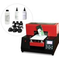 التلقائي A4 الأشعة فوق البنفسجية طابعة آلة الطباعة غطاء الهاتف مع تأثير النقش للزجاج طابعات بطاقة المعادن الاكريليك الاكريليك