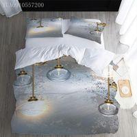 Bedding Sets 3D Printed Set Light Bulb Duvet Cover Twin Full Queen King Size Bedspread For Girl Kids Gifts Comforter
