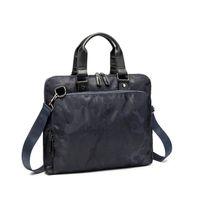Women Men Leather Shoulder Bag Large Capacity Computer Laptop Handbag Briefcase Messenger Bags Vintage Businessv