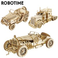 Robotime Rokr - 3d Wooden Puzzles, Architectural Models, Toys, Gifts for Children and Adolescents