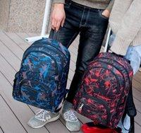 Cheap Out Under Дверь Сумки на открытом воздухе Камуфляж Путешествия рюкзак Компьютерная сумка Оксфорд Тормозная цепь Средняя школа Студенческая сумка много цветов