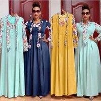Платья Африканские платья для женщин Элегантное лето 2021 Даники Осень Maxi Платье Дамы Традиционная Африканская Одежда Fairy Dreaes