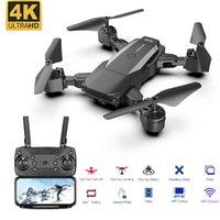 F84 RC Drone WiFi FPV камера 4K HD высота Удерживайте складной беспилотный вертолет один ключ возврат RC Quadcopter высокое качество Dron подарки 210325