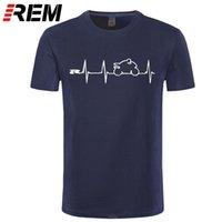 REM NIEUWE COOL T-shirt T-shirt Japan Motorfietsen Heartbeat GSXR 1000 750 600 K7 210319