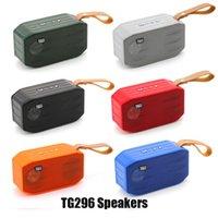 TG296 سماعات بلوتوث لاسلكية مكبرات الصوت مضخمات يدوي مكالمة ملف تعريف ستيريو باس دعم TF USB بطاقة Aux خط في Hi-Fi بصوت عال مصغرة المحمولة المتكلم