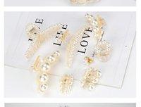 New Elegant Pearl Hair Claws Woman Hair Clip Hairpins Hair Accessories Girls Headwear Fashion Barrettes