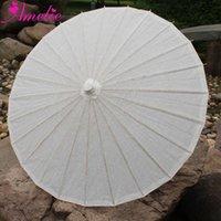 Andere Accessoires Kunst Schule Kinder DIY Malen Produkte Handgemachte Papier Umbrella Strand Hochzeit Gast Geschenke Braut Sun Parasol 10 stücke