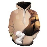 Diy maßgeschneiderte designer damen hoodies sweatshirts cartoon kawaii 3d gedruckt katze übergröße mens sweatshirt pullover langarm mit kapuze sudaderas