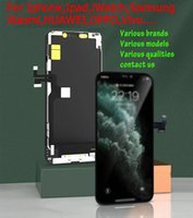 Various Brands Panels, LCD Display High Brightness Pass Sunglasses Test Touch Digitizer Complete Screen Full Assembly Replacement for iPhone X XR XRMAX 11 11PRO 12