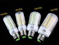 E27 220V светодиодная лампа 5730 SMD лампочки E14 кукуруза 80 89 108 136 светодиодные светильники Bombillas Люстра лампа лампада Ampoule