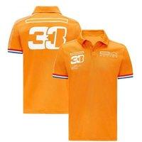 F1 Formula One T-shirt Public Tee-shirt Tee-shirt Tee-shirt Polo Jersey Verstappen Style de course Vêtements de travail Riding T-shirts RTTJ