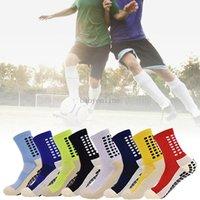 Calze da calcio antiscivolo da uomo calze da football atletica calze lunghe Assorbenti Sport Sport Socks per pallacanestro da calcio da pallavolo