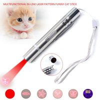 Cat Toy USB Direct Laser Mode Teaser Stick Check Pen Pet Supplies Toys