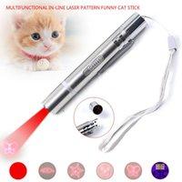 Cat Toy USB Direct Laser Mode Teaser Stick Check Pen Pet Supplies Toys