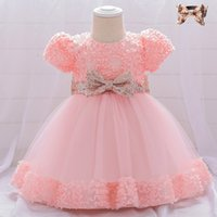 Baby Girl Sequin Dress Birthday Dress Christmas Baby Party I...