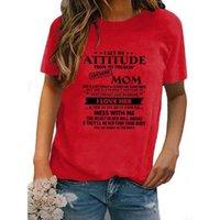 احصل على موقفي من Frakin 'Awesome Am T-Shirt Mother's Day Funny print إلكتروني HSJ88 المرأة