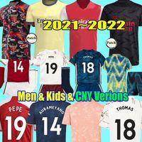 2022 THOMAS PEPE GABRIEL WILLIAN Soccer Jerseys 21 22 HRFC Human Race Tierney SAKA Gunners chemises de football aRsEn MEN CNY Chinese Year kids kits uniformes