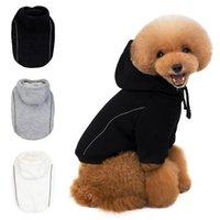 Одежда для собак 2021 Flece Pet Winter Одежда для маленьких собак Kawaii Coral Velvet Комбинезон Щенок Наряды Палаты Куртки
