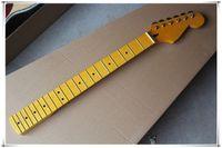 6 corde in acero giallo tavola data 21/22 tasti per chitarra elettrica con sintonizzatori cromati, può offrire molti tipi di stile