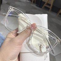 Blue Blocking Blocking Blocking Blocco per occhiali da sole sovradimensionati Eyeglasses Trasparente Computer Anti Blu-ray Uomo Occhiali da uomo Occhiali da sole Occhiali da sole