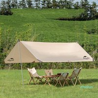 Tents And Shelters 4-6 Person Outdoor Large Sun Shelter Waterproof Awning Family Sunshade Canopy For Camping Picnic Hiking Travel