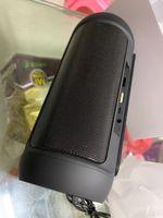 جودة عالية المحمولة بلوتوث اللاسلكية المتكلم مع حزمة صغيرة في الهواء الطلق عمود مضخم صوت لاسلكي في الهواء الطلق يدعم المتحدث صغير مشغل الصوت USB حامل الهاتف المحمول