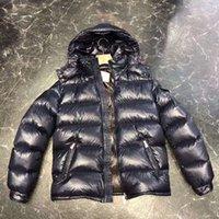SS Designers мужская вниз зимняя куртка с капюшоном утолщенная лента высокого качества теплый и ветрозащитный слой красный S-XXL