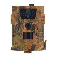HT-001b Trail Camera 12MP 1080P 30 stücke Infrarot-LEDs 850NM Jagd IP54 Wasserdicht 120 Grad Winkel Wildlife-Kameras