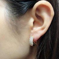 Pendientes de aro de oro pequeños para mujer Oorbellen Bijoux Femme Brincos Orecchini Aretes de Mujeres Earings coreanos Kolczyki Kupe E2149 Huggie