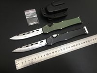 "MT Automatic Knife 150-10 Hal VI (4.6"" Satin) Elmax Blade single action EDC tools Tactical Gear Survival Combat Outdoor Defense Pocket Auto"