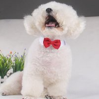 Dog Apparel 2021 Adjustable Collar For Pet Puppy Kitten Dogs Cat Bow Tie Home Decor Holiday Wedding Fashion Ties