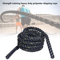 Jump Ropes 2.8m Fitness Heavy Rope Crossfit Weighted Battle Skipping Power Training Improve Strength Muscle Equipment