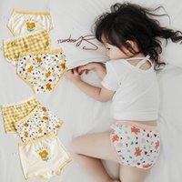 3 teile / los Kinder Mädchen Unterwäsche Baumwolle Panties Shorts Kleinkind Boxer Cartoons Kurze Slip Kind Niedliche Unterhose Baby Zubehör