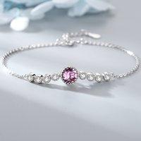 Dropship 925 Heart of the Sea Sterling Argent Brand Bijoux pour Femmes Chaîne Bracelet Bracelet Praty Bracelets de mariage BS4745