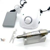 Nail Drill & Accessories 65W BT Marathon3 Champion Control Box 30000RPM SDE H200 Handle Electric Polish Machine Manicure Set