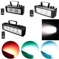 RGB DJ Disco Strobe laser Light 40W 60W 100W Remote Sound Control Flash Party Dance Bar Holiday Club Stage Effect Lights