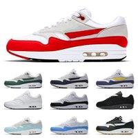 30-й юбилейный пакет годовщины 1/87 мужская беговая обувь драгоценностей белый университет синие женщины спортивные тренажеры aqua teal красные серые кроссовки